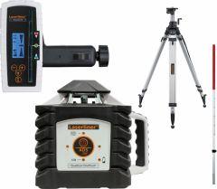 Quadrum OneTouch 410 S SET Roterende laser + gratis Flexi-meetlat+ Spindelstatief P260 cm