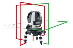 PowerCross-laser 5 Combi Kruislijnlaser Groen en Rood in L-Boxx