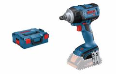 GDS 18V-300 Professional Slagmoeraanzetter 18V excl. accu's en lader in L-Boxx + 5 jaar dealer garantie! 06019D8201