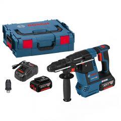 0611910002 GBH 18V-26 F Combihamer 18 Volt 6,0 AH in L-Boxx + 5 jaar dealer garantie!
