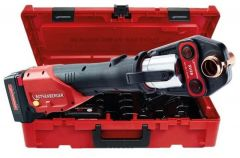 Romax 4000 Set TH Accu Persmachine 18V 4,0Ah Li-Ion + 3 bekken TH 16-20-26 mm