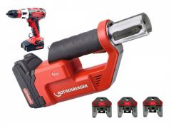 1000002290 Romax Compact TT Set TH16-20-26 Accuperstang 18V 2,0Ah Li-Ion + RO DD90 accuboormachine