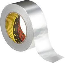 Scotch 1436 Aluminiumfolie Tape 50 mm x 50 mtr.