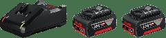 Starterset 18V Click&Go met 2 accu's van 4.0Ah + Lader GAL 18 V-40 1600A019S0