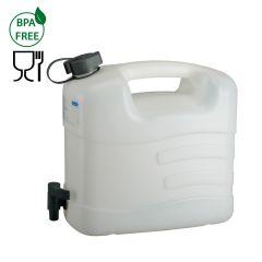 Jerrycan voor water-10 l HDPE-met aftapkraan