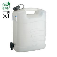 Jerrycan voor water-15 l HDPE-met aftapkraan