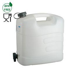 Jerrycan voor water-20 l HDPE-met aftapkraan