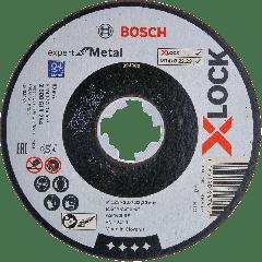 X-LOCK Doorslijpschijf Expert for Metal 125 mm x 2,5 mm A 30 S BF