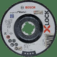X-LOCK Afbraamschijf Expert for Metal 125 mm x 6.0 mm verzonken asgat A 30 T BF