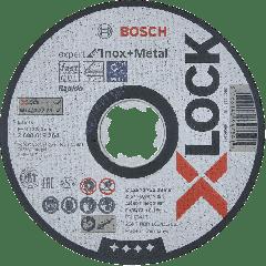 X-LOCK Doorslijpschijf Expert for Inox + Metal 125 mm AS 60 T INOX BF