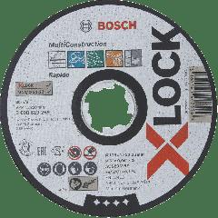 X-LOCK Doorslijpschijf Multi Material 125 mm x 1,6 mm ACS 46 V BF