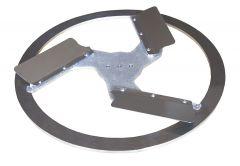 Flugelglatter 450 mm voor Rokamat Nautilo