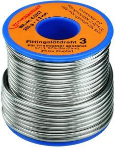45250 Fittingsoldeer 1 S, 3 mm