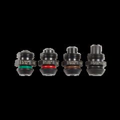 4-delige neusset voor het M12 ™ klinknageltool (2,4, 3,2, 4,0, 4,8 mm)