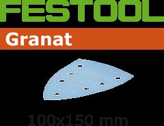 497132 Schuurbladen Granat STF DELTA/7 P80 GR/10
