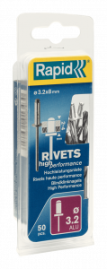 High performance blindklinknagels Ø3,2 x 8 mm 5000383 50 stuks