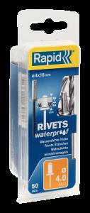 Waterdichte blindklinknagels Ø4,0 x 16 mm 5000401 50 stuks