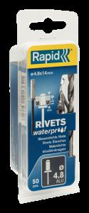 Waterdichte blindklinknagels Ø4,8 x 14 mm 5000402 50 stuks