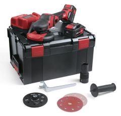 Accu Supraflex SE 125 18.0-EC/5.0 Set 18V 5.0Ah Li-Ion Multischuurmachine Steen/Metaal/Lakwerk/Hout