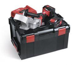 RFE 40 18.0-EC/5.0 Set Accu-freesmachine voor dakgootbevestiging 18V 5.0Ah in L-Boxx