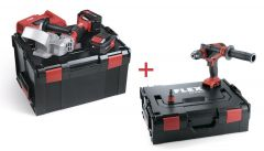 RFE 40 18.0-EC/5.0 Set Accu-freesmachine voor dakgootbevestiging 18V 5.0Ah + DD 4G 18.0-EC Accu-Schroefboormachine