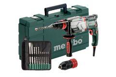 600697510 UHE 2660-2 Quick SET Multi-hamer + snelspanboorhouder 800 Watt 18 Nm 2,8 Joule + 5 jaar dealer garantie + 10-delige boor/beitelset