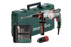 600713510 UHEV 2860-2 Quick SET Multi-hamer + snelspanboorhouder 1100 Watt 18 Nm 3,4 Joule + 5 jaar dealer garantie + 10-delige boor/beitelset