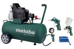 Metabo Basic 250-50 W OF SET Compressor 50Ltr + dealer garantie!