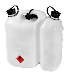 714822 Dubbele jerycan 5 l benzine en 3 l olie