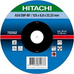 A24/30P Afbraamschijf voor metaal 125 x 6 x 22,23 mm per 10 stuks