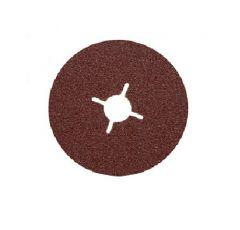 Fiberschijf voor metaal 125 mm, K120 per 25 stuks