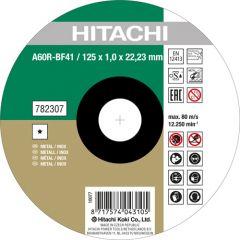 A60R-BF41 Doorslijpschijf voor RVS/metaal 125 x 1 mm per 25 stuks