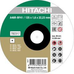 A46R-BF41 Doorslijpschijf voor RVS/metaal 125 x 1,6 x 22,23 mm per 25 stuks