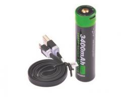 79NT/18650USB Oplaadbaar Batterij 18650 Li-lon USB 3.7 Volt