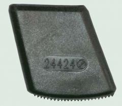 Ladderschoen 48 x 25 mm Zwart per stuk