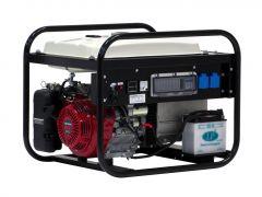 EP6000E-25 stroomaggregaat 6 KVA met Honda benzinemotor 2x 230Volt (16A) elektrische startend 950000609