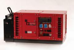EPS6000E stroomaggregaat 6 KVA met benzine motor 2 x 230 Volt (16A) - 1x 230 Volt (32A) elektrische startend 950000611