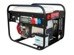 EP6500TE-25 stroomaggregaat 7 KVA met Honda benzinemotor 230 Volt(16A) - 400 Volt CEE (16A 5 p.) elektrische start 950000659