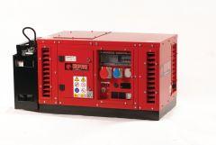 EPS6500TE stroomaggregaat 7 KVA met luchtgekoelde benzine motor 2x 230 Volt (16A) - 1 x 400Volt (16A 5p.) elektrische startend 950000663