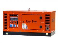 New Boy EPS103DE stroomaggregaat 10 KVA dieselmotor 3x 230 Volt elektrische startend 991011012