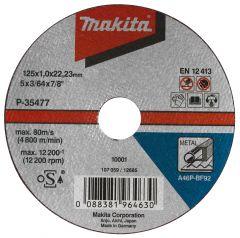 Doorslijpschijf Metaal 125 x 22.2 mm 1 stuks