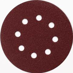Schuurschijf 125 mm Korrel 80 RED 10 st.