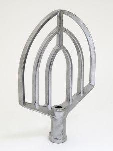 Platte mengarm Aluminium Type B voor H-600
