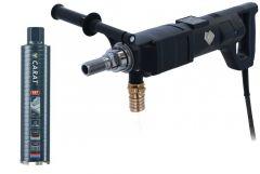 A-2225 Dry Beton Diamantboormachine 2200 watt + diamantboor Dry Beton 62 x 300 mm