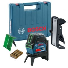 GCL 2-15 G Professional Combi Lijnlaser Groen in koffer 0601066J00