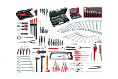 CM.140A Set voor industrieel serviceonderhoud, 200 stuks gereedschap