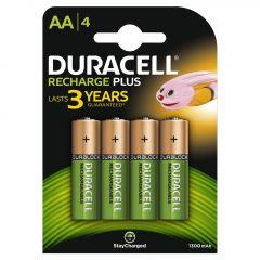 Oplaadbare Batterijen Plus AA 4st.