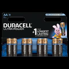Batterijen Alkaline Ultra Power AA 8st.