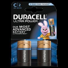 Batterijen Alkaline Ultra Power C 2st.