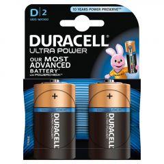 Batterijen Alkaline Ultra Power D 2st.